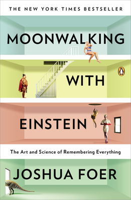 Cover graphic for Moonwalking with Einstein