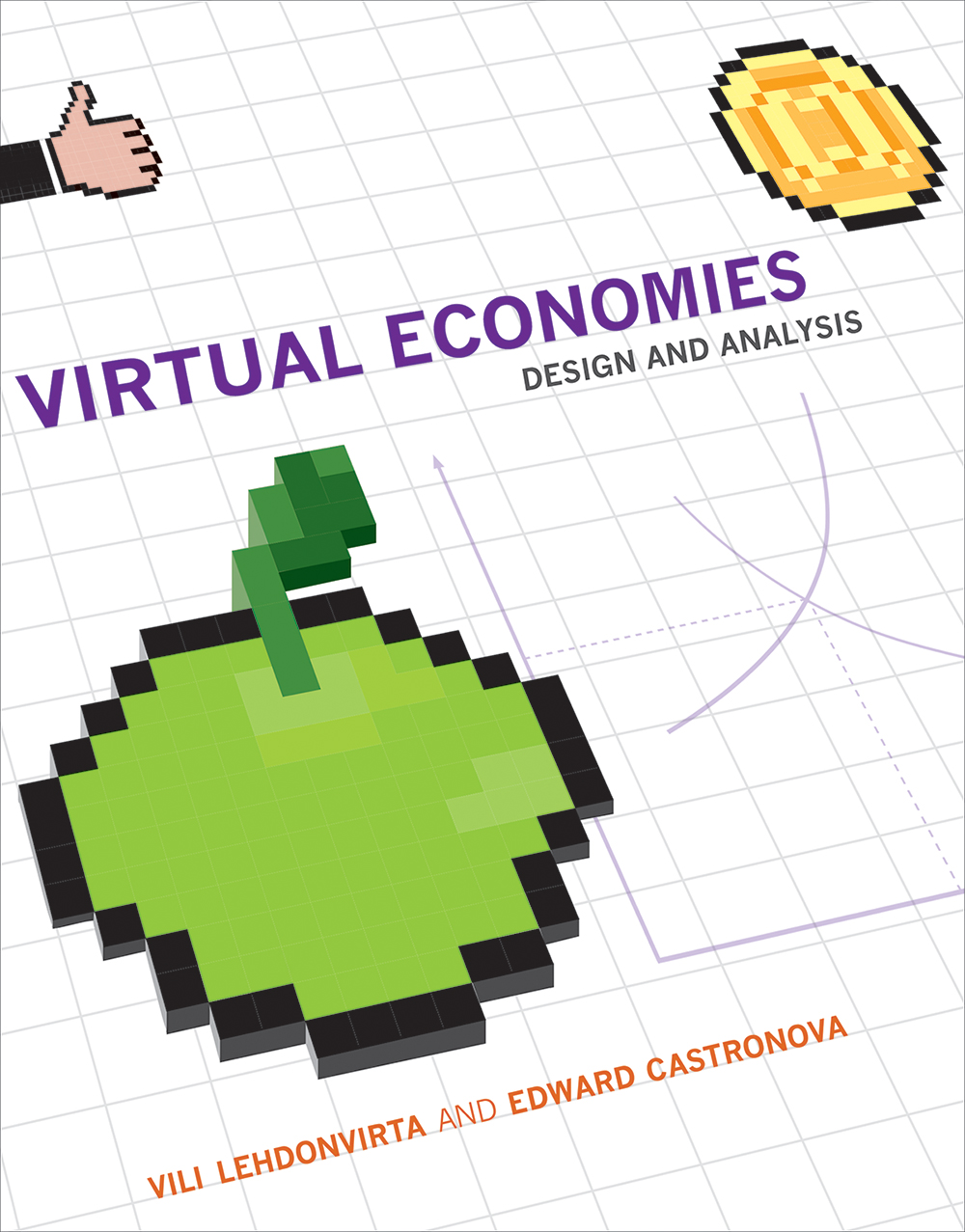 Cover graphic for Virtual Economies from MIT Press